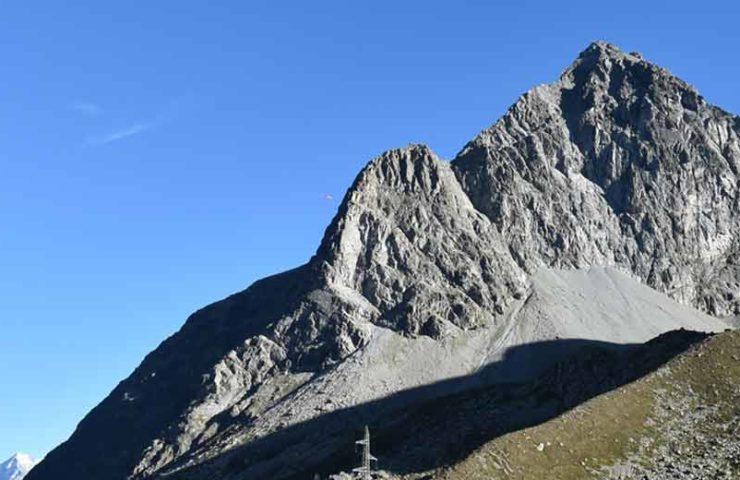 Alpinist crashed on Piz Polaschin in Silvaplana