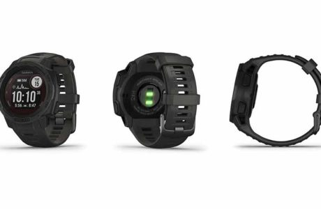 GPS watch with solar energy: The Garmin Instinct Solar