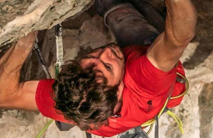 Stefano Ghisolfi klettert Change (9b+) in Flatanger