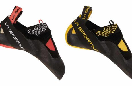 Developed for the gym: the La Sportiva Theory climbing shoe