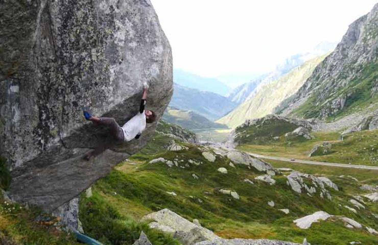 Giuliano Cameroni und Clément Lechaptois eröffnen neue schwere Linien im Gotthard-Gebiet