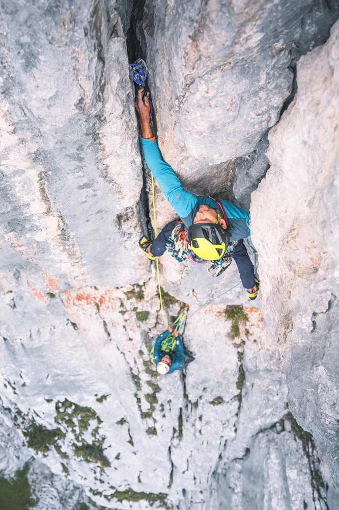Pumprisse climbing route