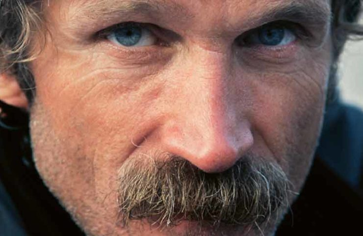 Kurt Albert: inventor del punto rojo, pionero de la escalada, aventurero y pensador lateral