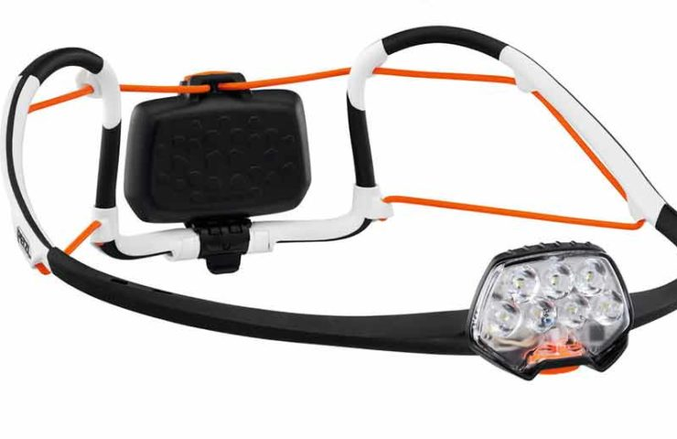 Light and incredibly bright: the IKO Core headlamp from Petzl