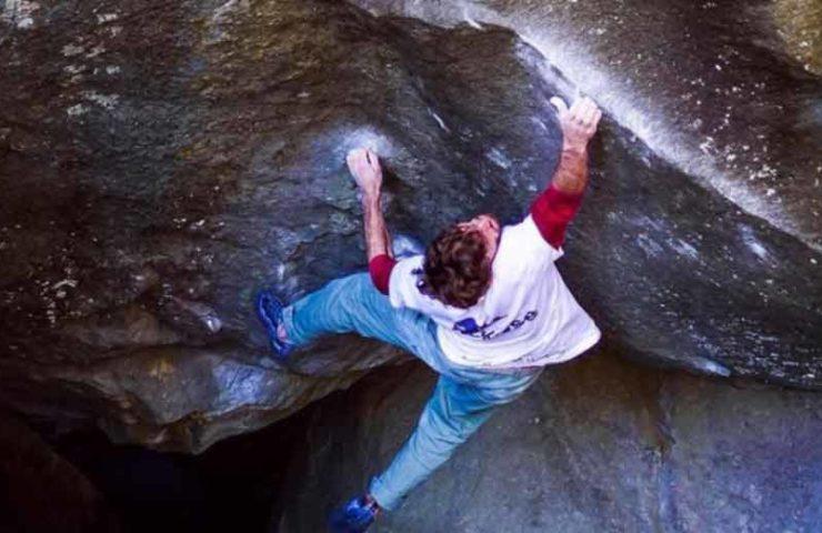 Clément Lechaptois: Dream Boulder The Understanding (8c), dotted