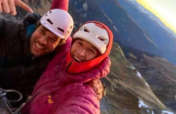 Michi Wohlleben climbs Rätikon classic Silbergeier (8b +)