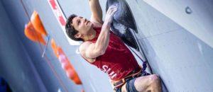 Sascha Lehmann ist Europameister 2020 im Leadklettern