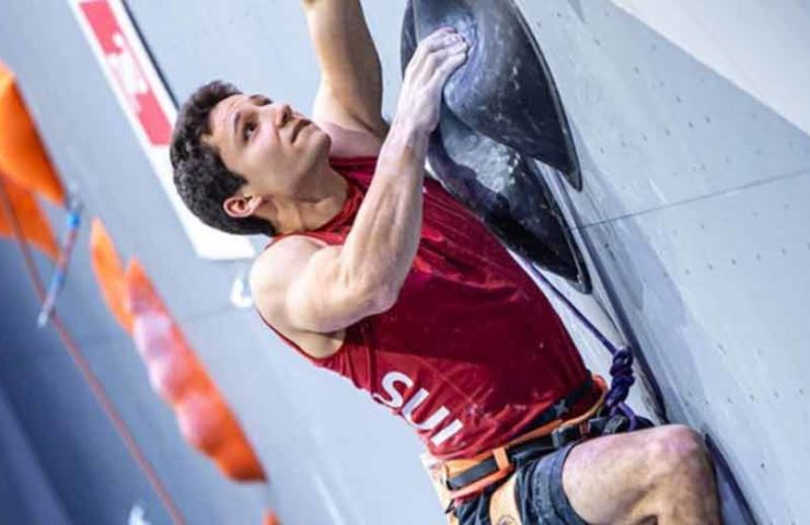 Sascha Lehmann is the 2020 European champion in lead climbing