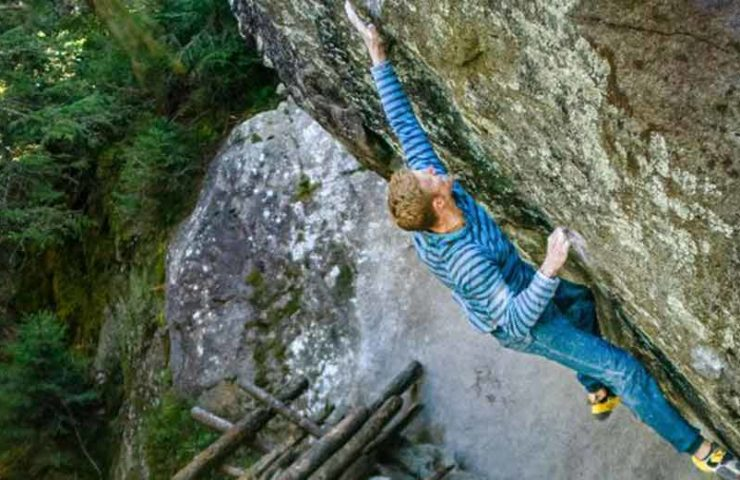 Video: Jakob Schubert bouldert La Force Tranquille Direct (8c)