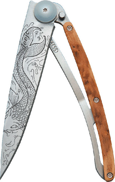 tattoo wood knife_deejo_gift idea climber boulderer