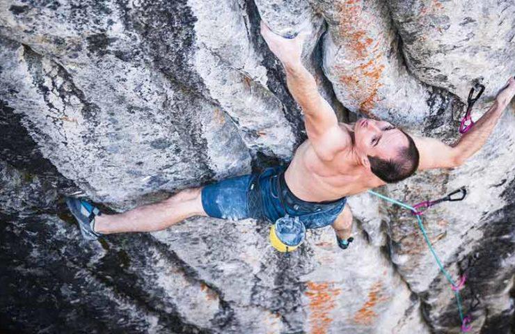 Wacky Granite Tufa route: Carlo Traversi climbs Empath (9a +)
