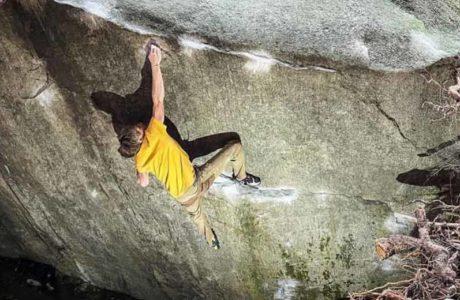 Alexander Megos klettert Tessin-Klassiker Dreamtime und Story