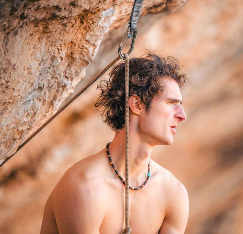 The disappointment is written on his face: Adam Ondra in Perfecto Mundo. (Image Petr Chodura / AO Productions)