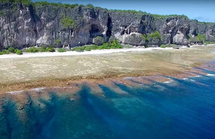 Ein Kletterparadies im Paradies auf Erden: Makatea Island