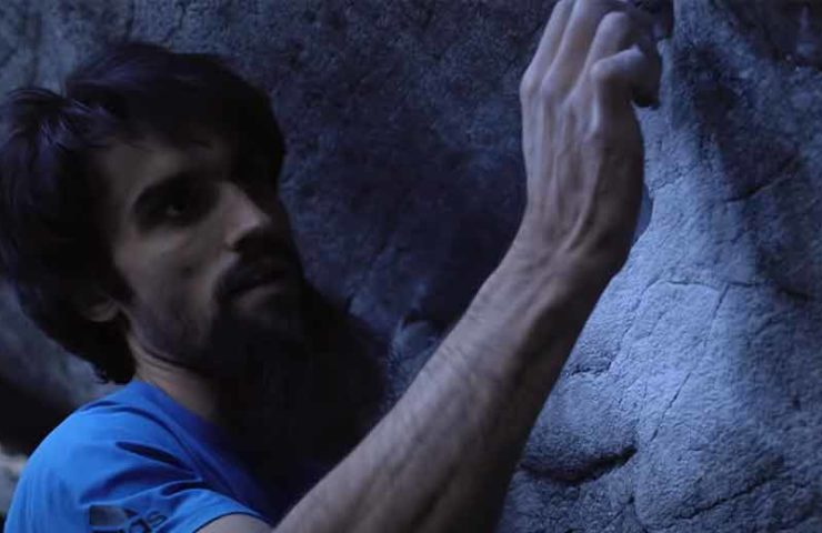 Niky Ceria in top form: Boulder Gioia (8c +) committed