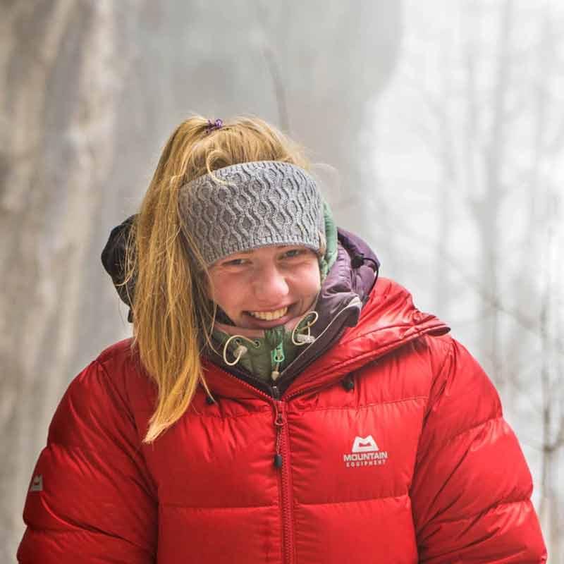Martina Demmel prefiere escalar rocas afuera. (Foto Malik Schirawski)