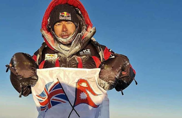 Nirmal Purja completed the K2 winter ascent without artificial oxygen