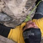 Stefani Ghisolfi climbs Erebor (9b / +) - the most difficult route in Italy