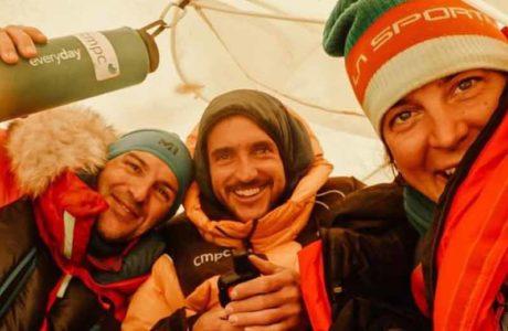 Tamara Lunger se apega al objetivo de la cumbre K2