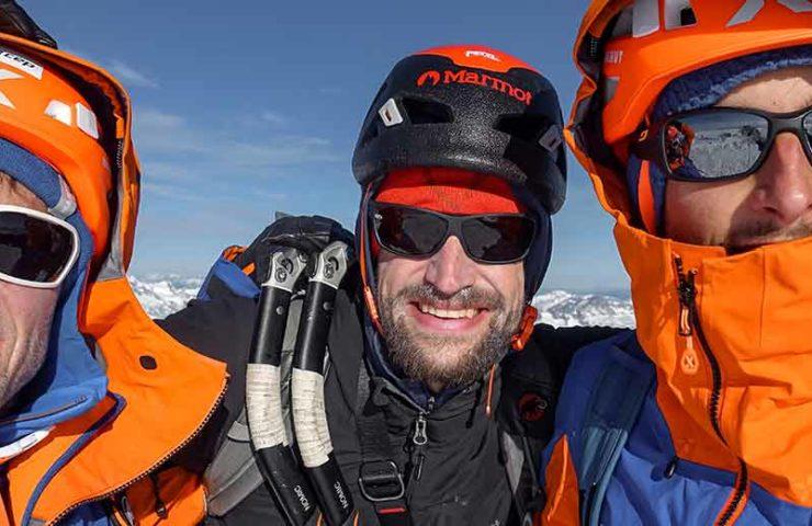 Video: Nicolas Hojac, Stephani Siegrist and Lukas Hinterberger in Patagonia