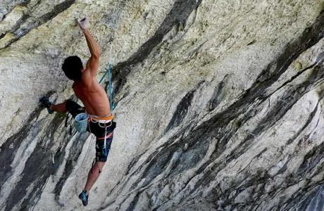 What a crazy route: Hugo Parmentier in La Rage d'Adam (9b / +)