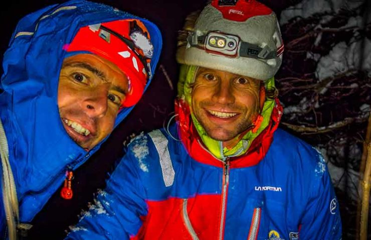 Dani Arnold and Roger Schäli: First ascent of Exocet in Lauterbrunnen Valley