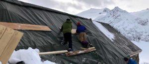 Trifthütte stark beschädigt - Betrieb frühestens ab Juni 2021