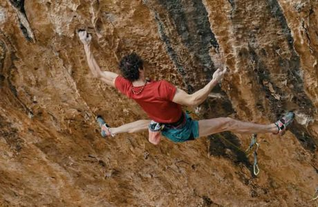 Adam Ondra enters potential 9c route