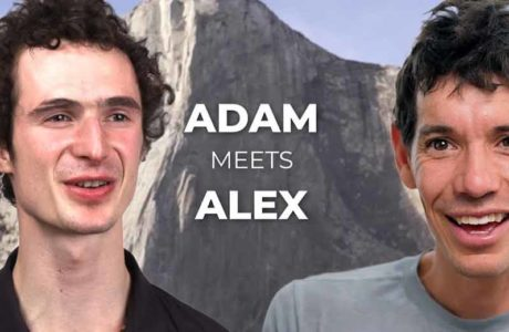Alex Honnold and Adam Ondra in conversation