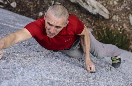 Alfredo Webber klettert 8c-Route free solo