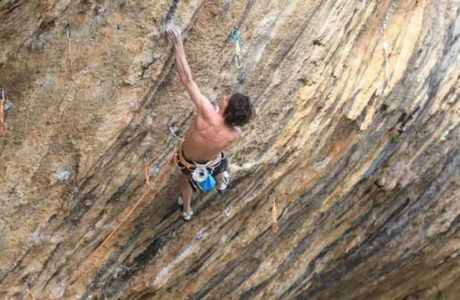 Dave Graham punktet First Ley (9a+)