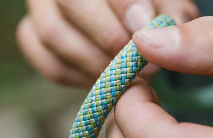 This rope was made from ropes: NEO 3R from Edelrid