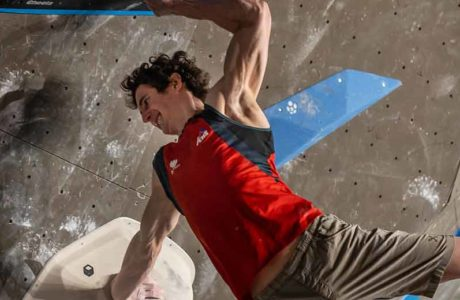 Adam Ondra and Janja Garnbret win the World Cup in Meiringen