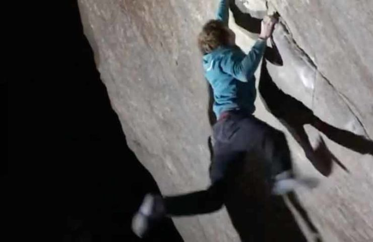 Dylan Chuat abre Boulder SBédo (8b) en Val Bavona