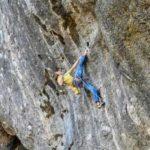 Erstbegehung: Alexander Megos klettert Hello Kitty (9a+)