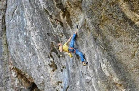 First ascent: Alexander Megos climbs Hello Kitty (9a +)