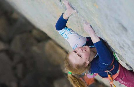 Entrevista exclusiva con la escaladora 9a Martina Demmel