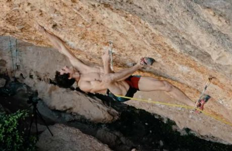 Adam Ondra invested the most attempts in this 9a