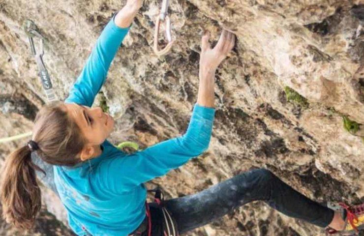 Laura Rogora vuelve a escalar 9a +