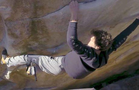 Nico Pelorson devalúa 9a-Boulder Soudain Seul