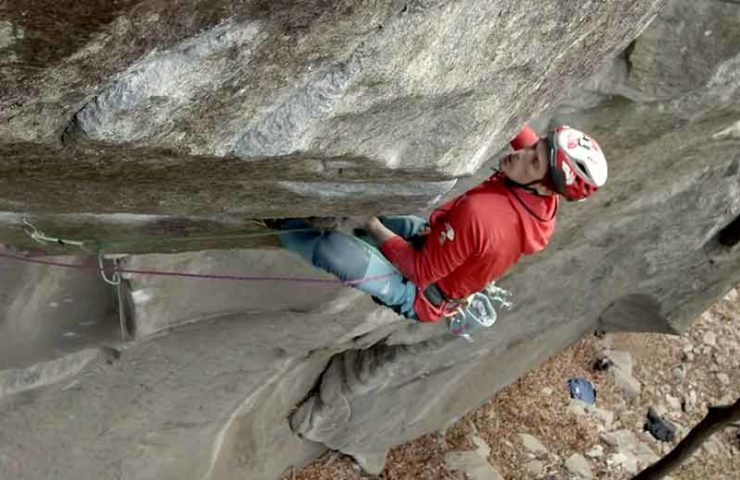 Pearson and Larcher on what is probably the most difficult trad route in the world: Tribe