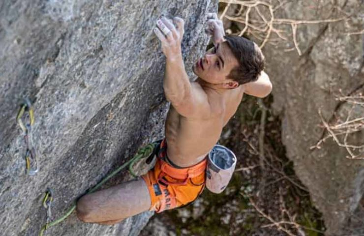 Philipp Geissenhoff scores 9a route in the realm of the Shogun