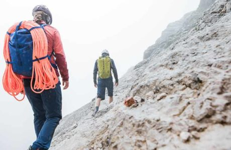 Robust companion: the Trad 30 Dry climbing backpack from Ortovox