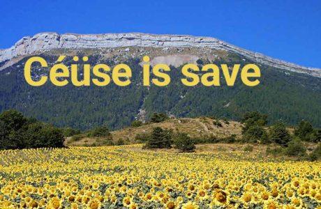 Sportklettergebiet Céüse ist gerettet