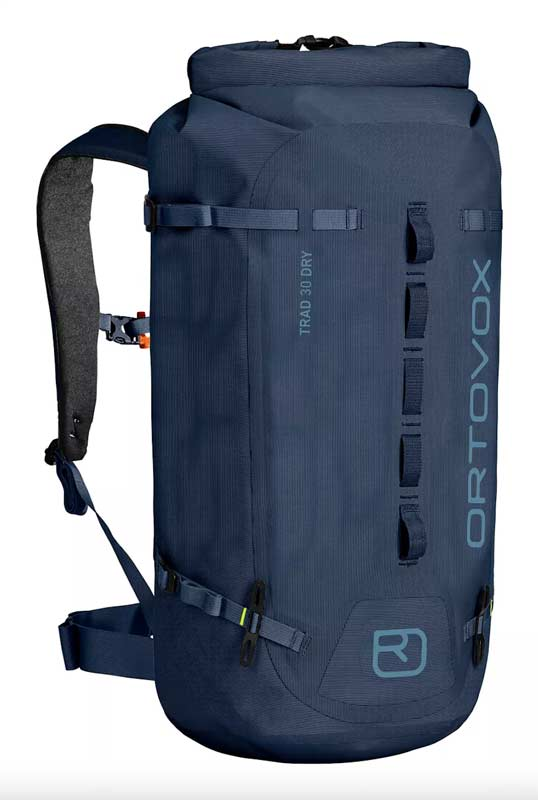 The climbing backpack Trad 30 Dry from Ortovox