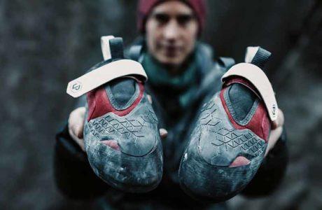 Buque insignia: Nuevo zapato de escalada de Unparallel