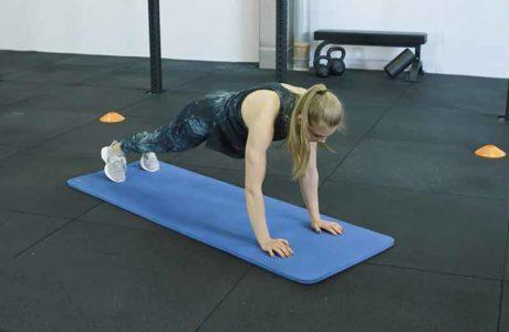 Rumpftraining mit Athletin Hannah Meul