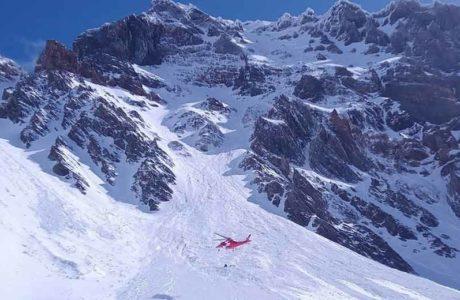 Dos alpinistas heridos de muerte en una avalancha