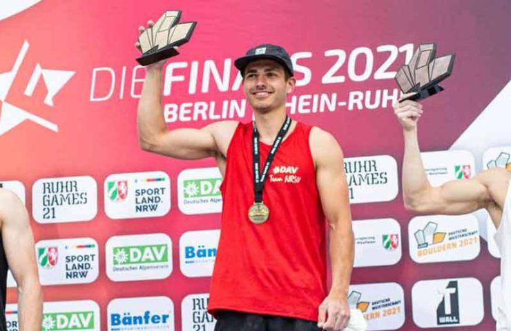Deutsche Meisterschaften: Vier nationale Titel und ein neuer deutscher Rekord