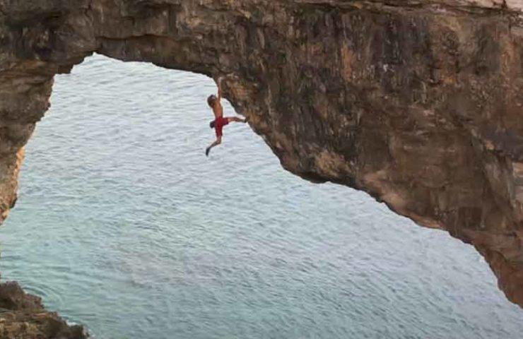 Es Pontas - Spektakulärste Deep Water Soloing Route